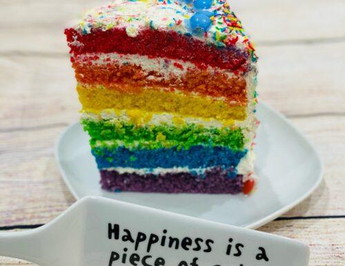 RAINBOW CAKE torta arcobaleno