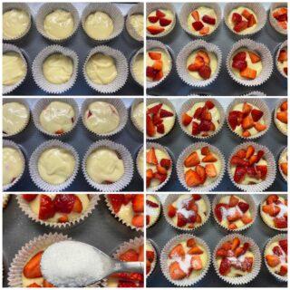 muffin alle fragole 4