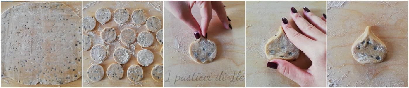 passo passo biscotti castagne