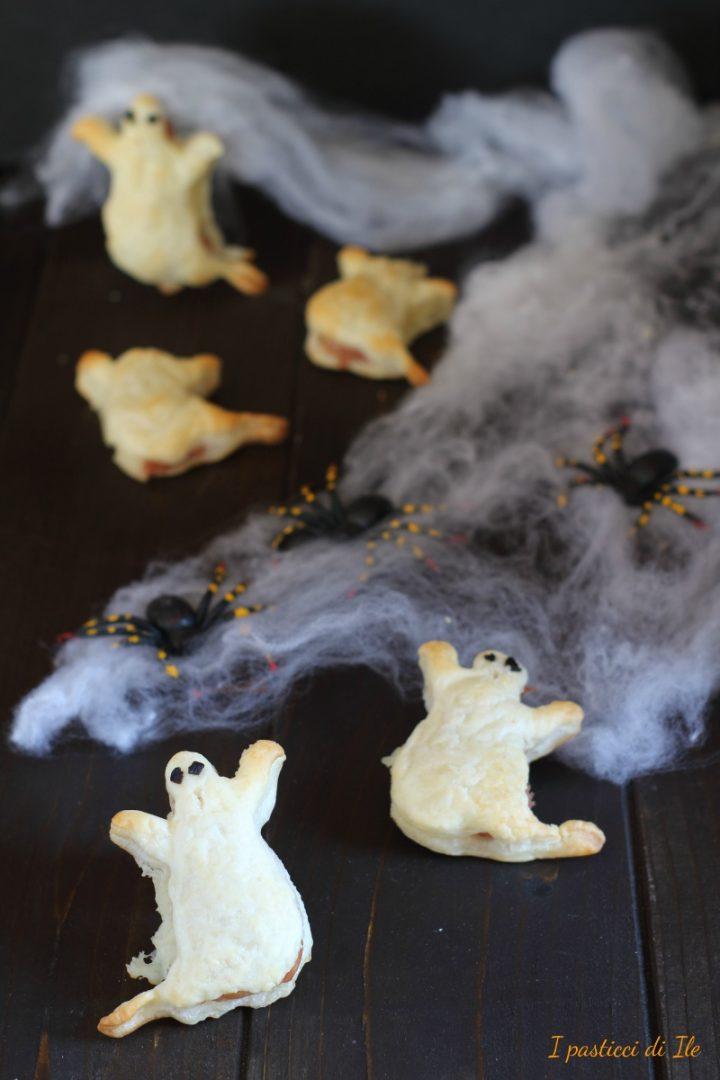 fantasmini di pasta sfoglia farciti
