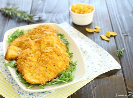 Petto di pollo impanato con corn flakes