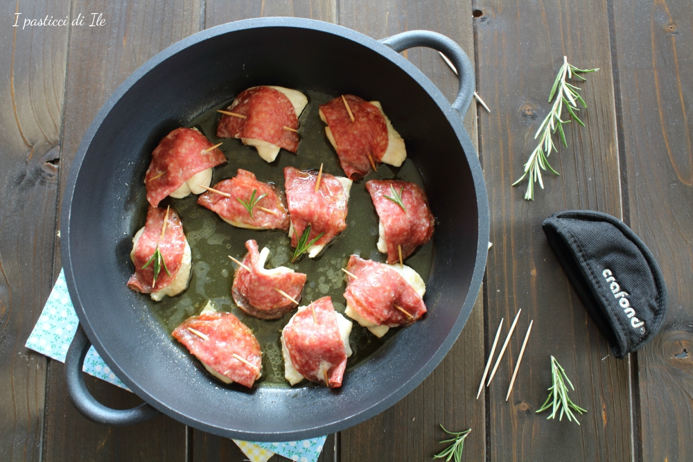 saltimbocca pollo e salame crafond