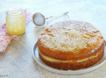 Torta soffice con crema pasticcera