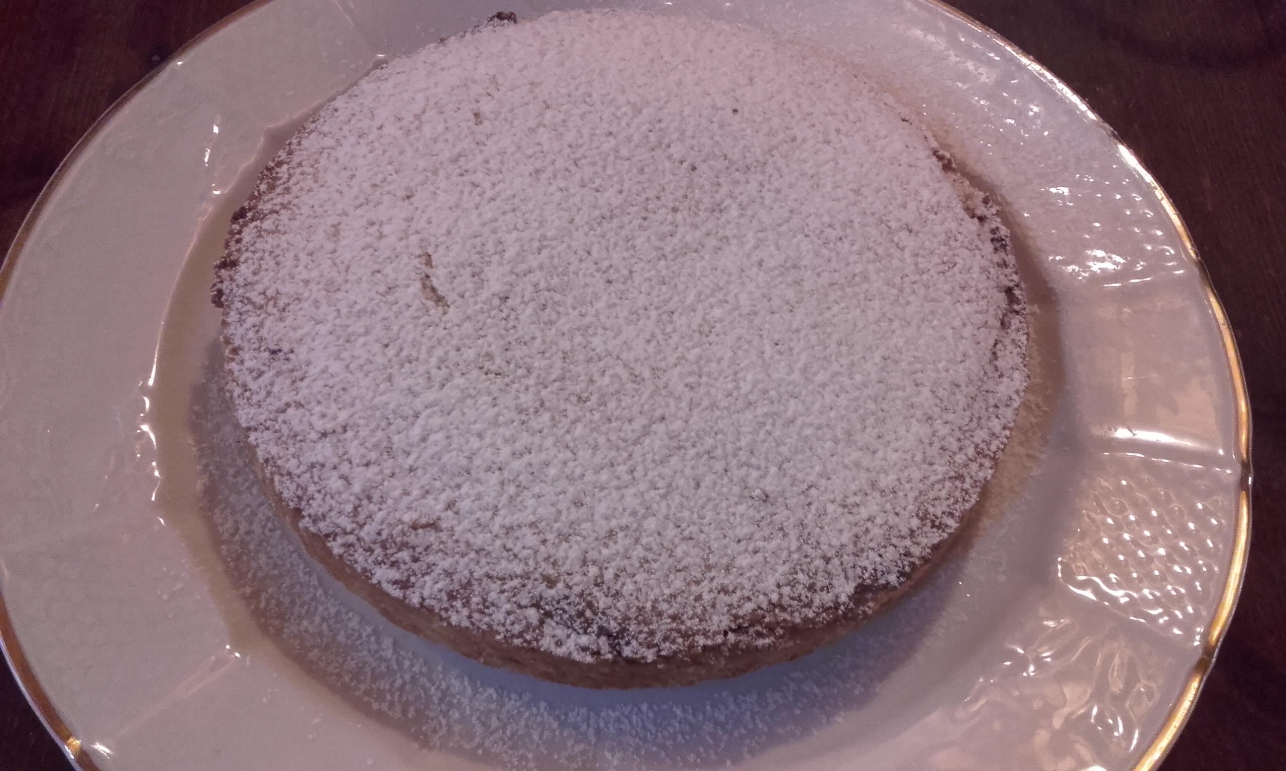 Torta magica cocco e nutella bianca
