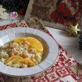risotto con gamberi e arancia Natale