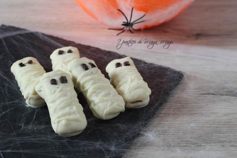 mummiette dolci di halloween