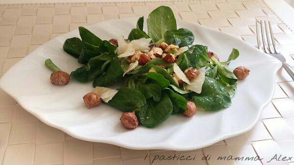 Insalata nocciole e grana i pasticci di mamma alex for Soncino insalata