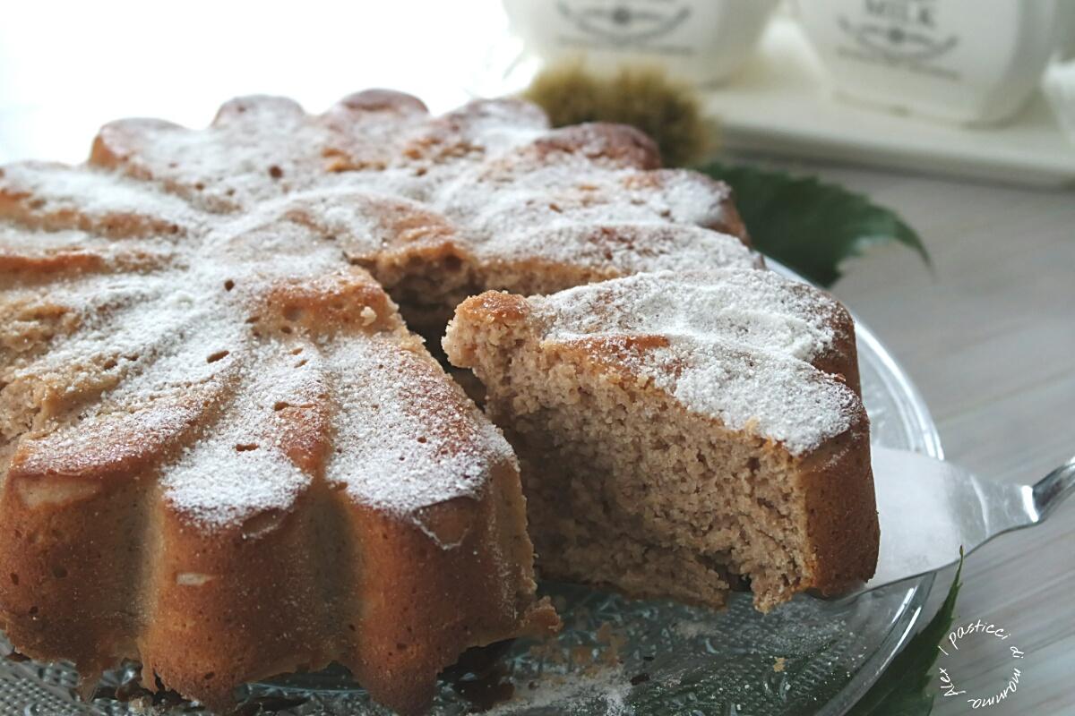 Torta farina di castagne e ricotta   I pasticci di mamma Alex
