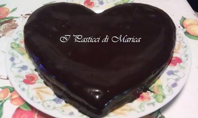 La torta al cioccolato preparata da I Pasticci di Marica