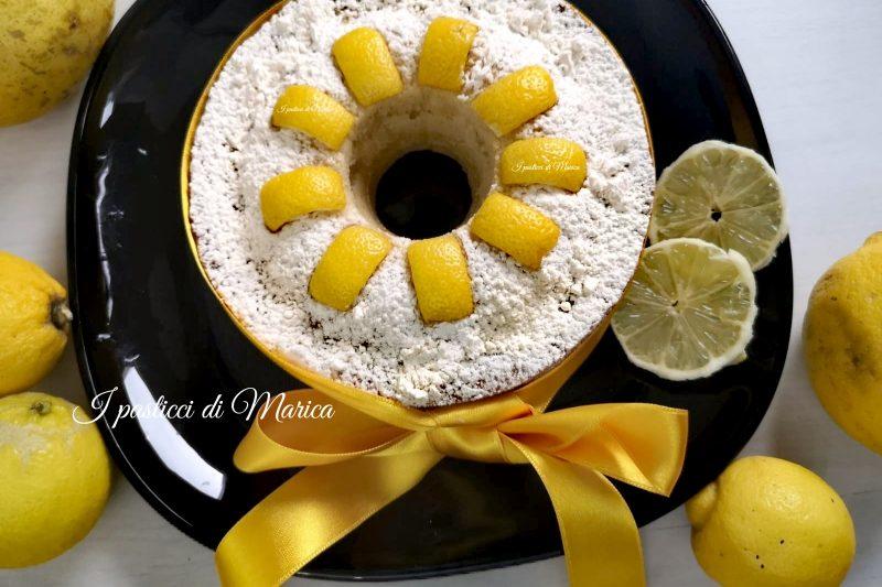 """Torta al limone """"Fior di limone"""""""