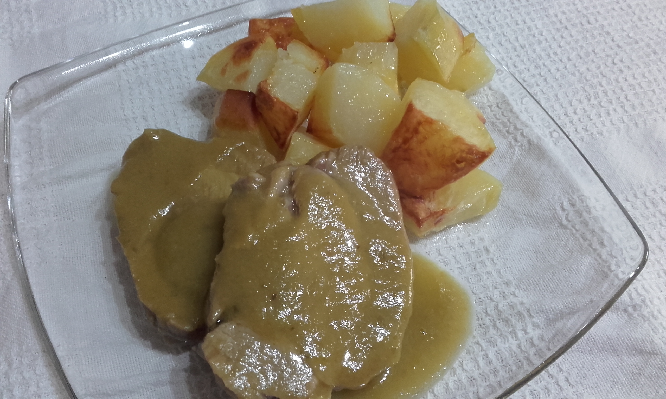 Arrosto di vitello con verdure e patate