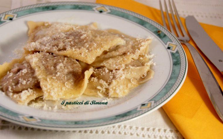 Ravioli con radicchio di Treviso