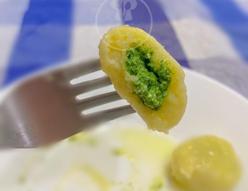 Gnocchi ripieni con ricotta e spinaci