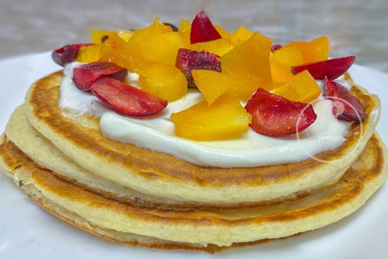 Pancakes di avena