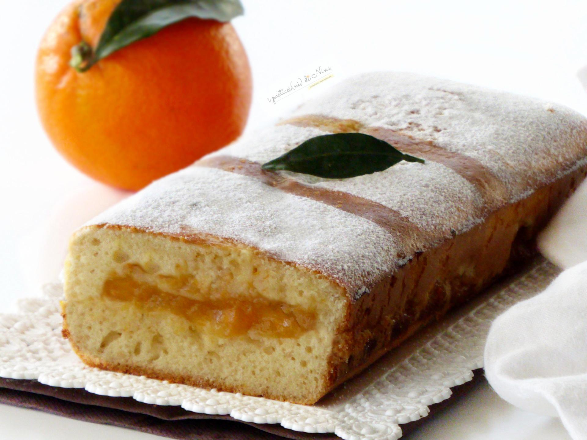 Plumcake soffice all'arancia