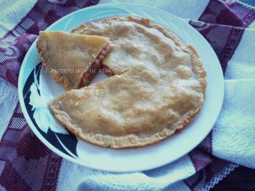 TORTA SALATA DI CIPOLLE E PANCETTA (SENZA LIEVITO)