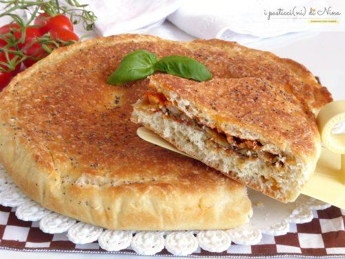 TORTA DI PAN BRIOCHE ALLE MELANZANE