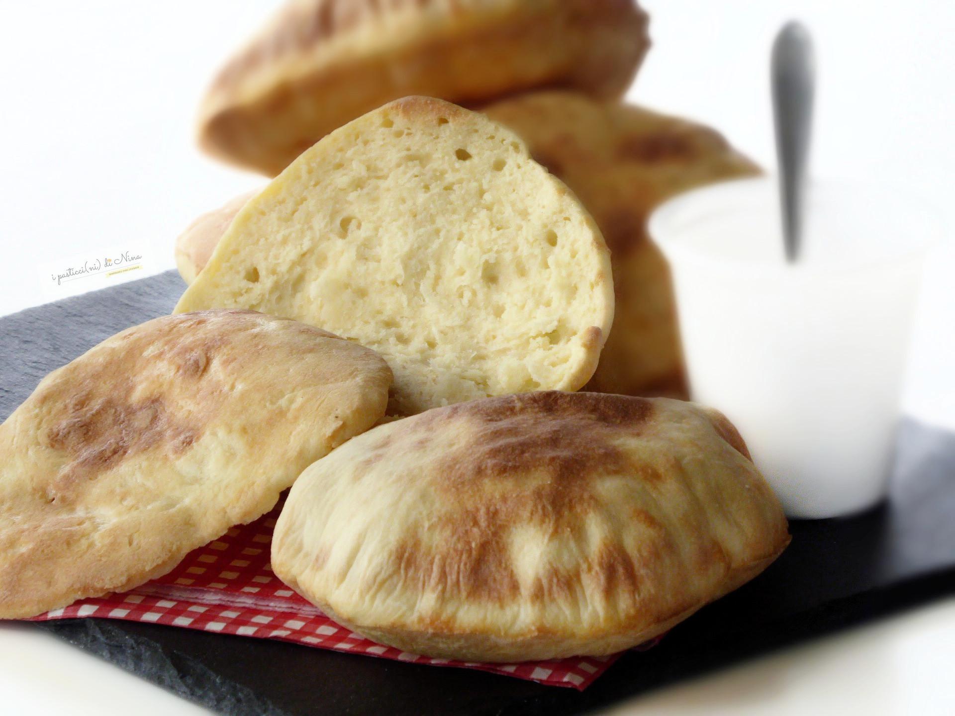 pane naan senza lievito con yogurt