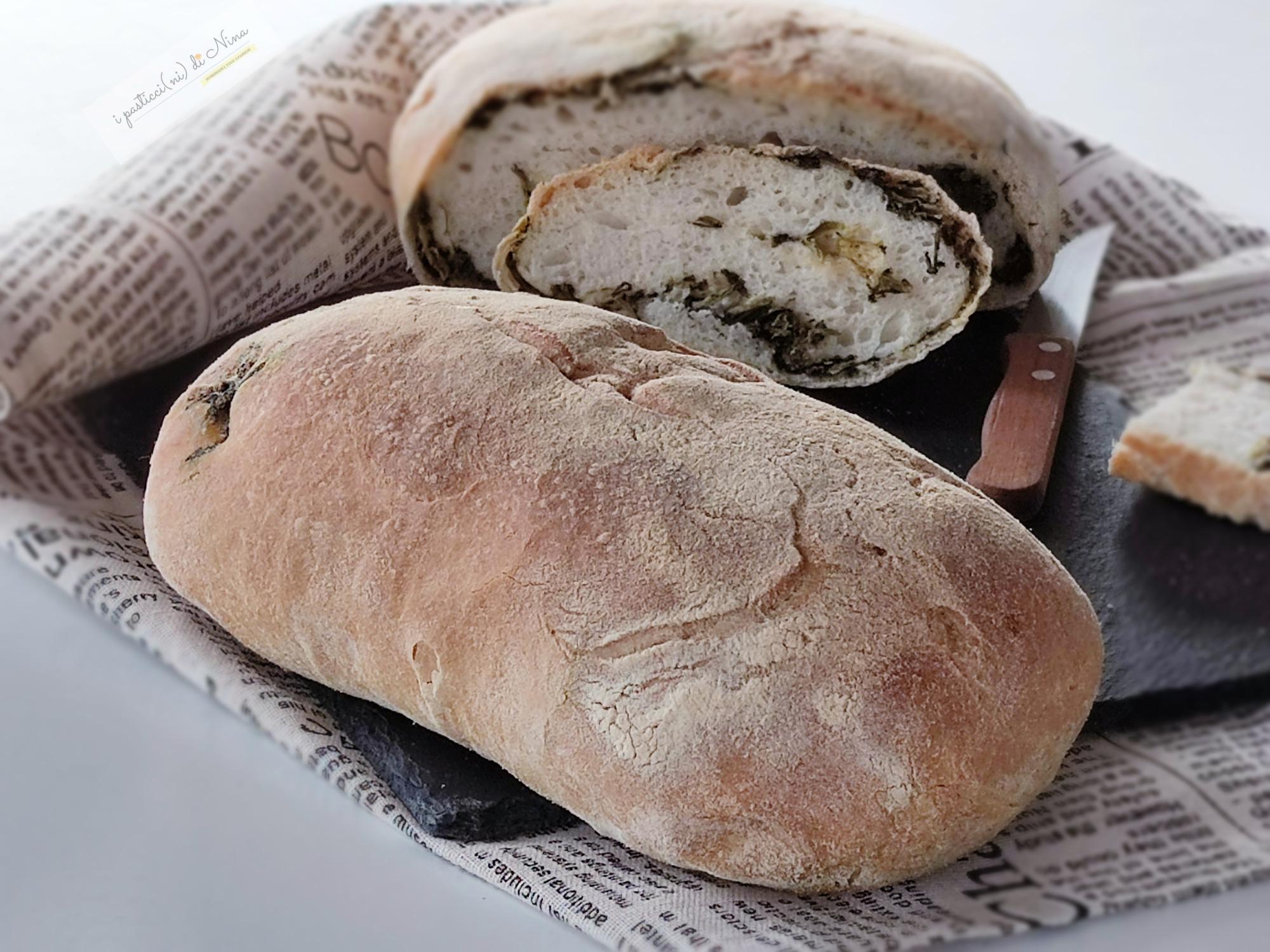 pane ai friarielli fatto in casa lievitazione in frigo