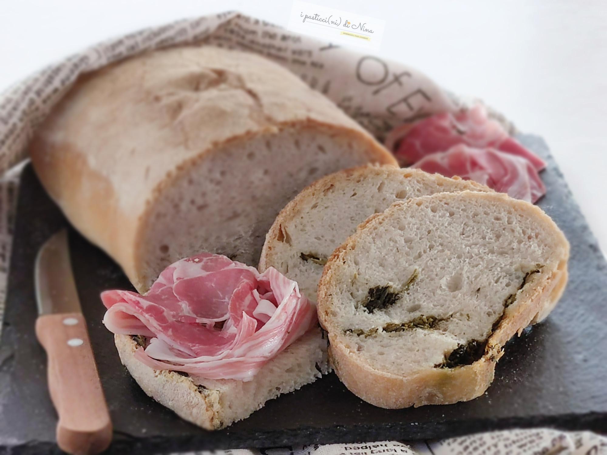 pane ai friarielli fatto in casa i pasticci ni di nina