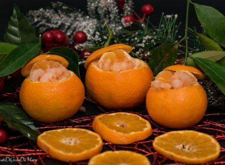 Clementine ripiene, un contrasto dolce-salato