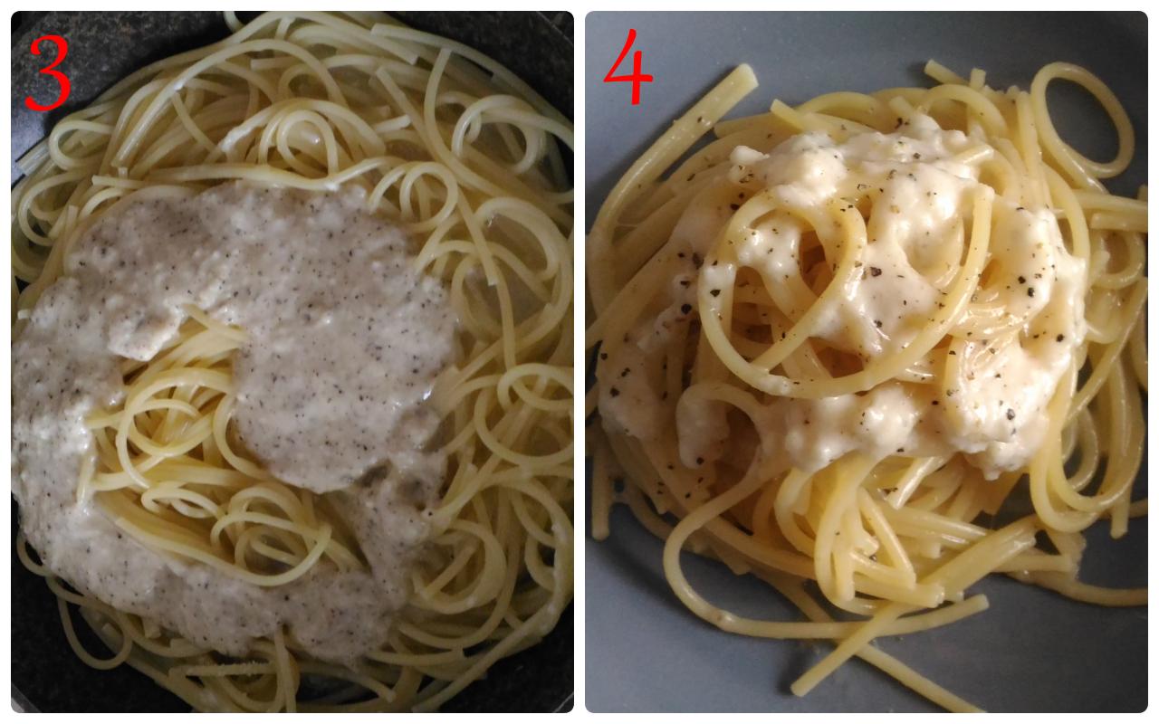 Spaghetti cacio e pepe primo piatto tipico romano for Piatto romano