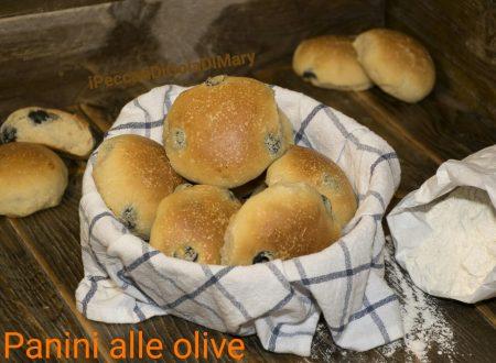 Panini alle olive sofficissimi