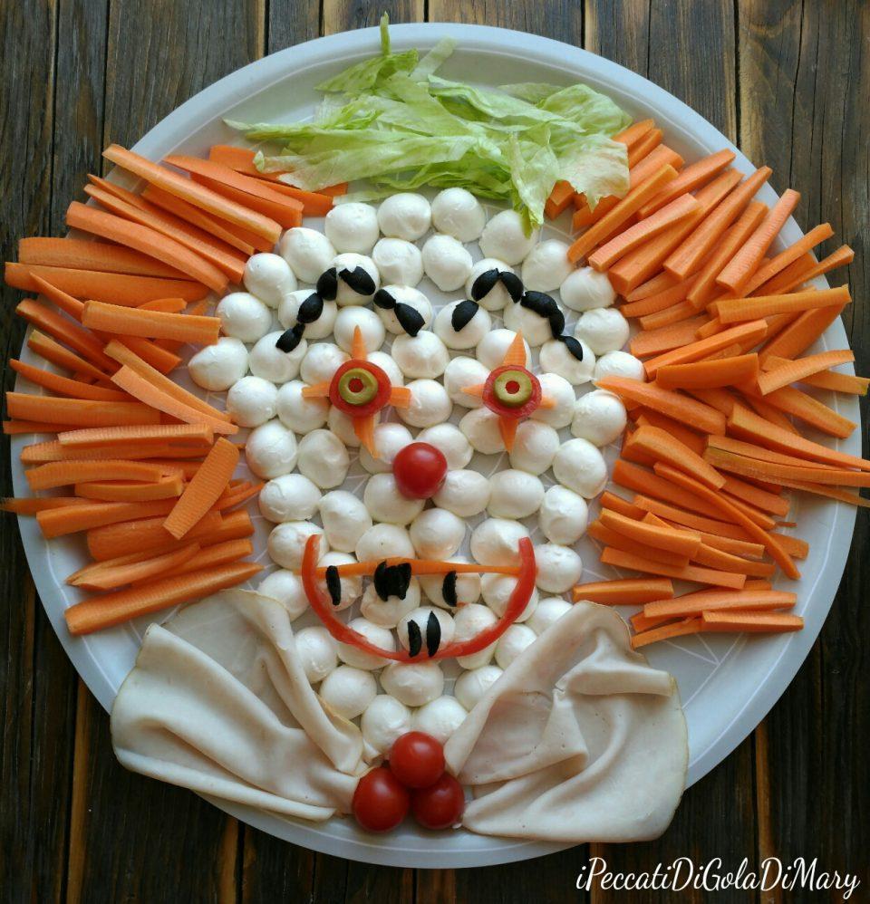 antipasto halloween clown