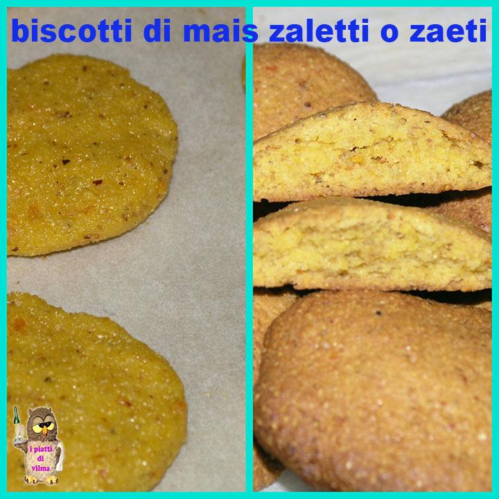 biscotti di mais zaletti o zaeti