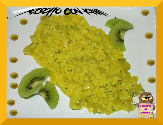 risotto con kiwi