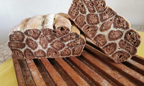 Pan bauletto dolce tigrato