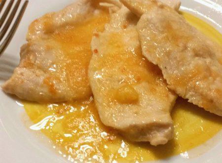 Filetto di pollo alle mele