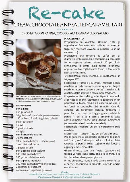 crostata panna cioccolato e caramello