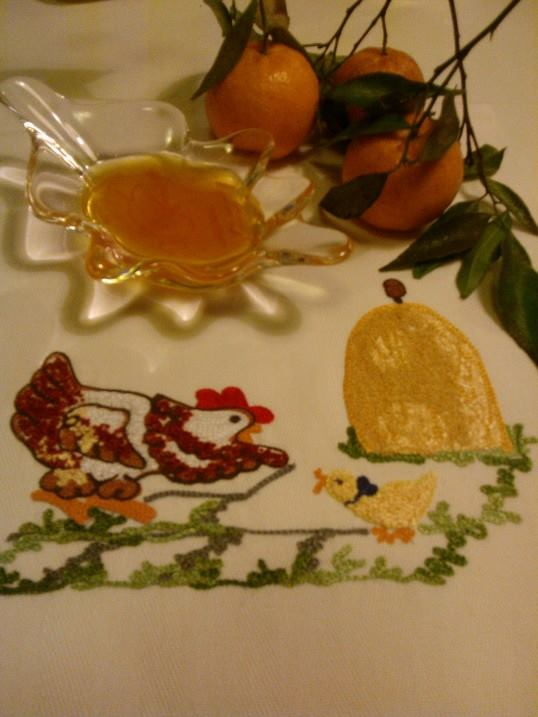 gelatina mandarini