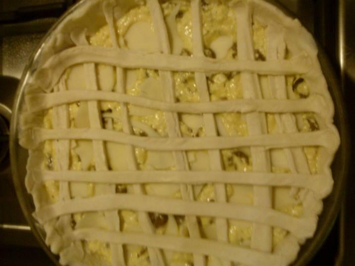 torta rustica speck