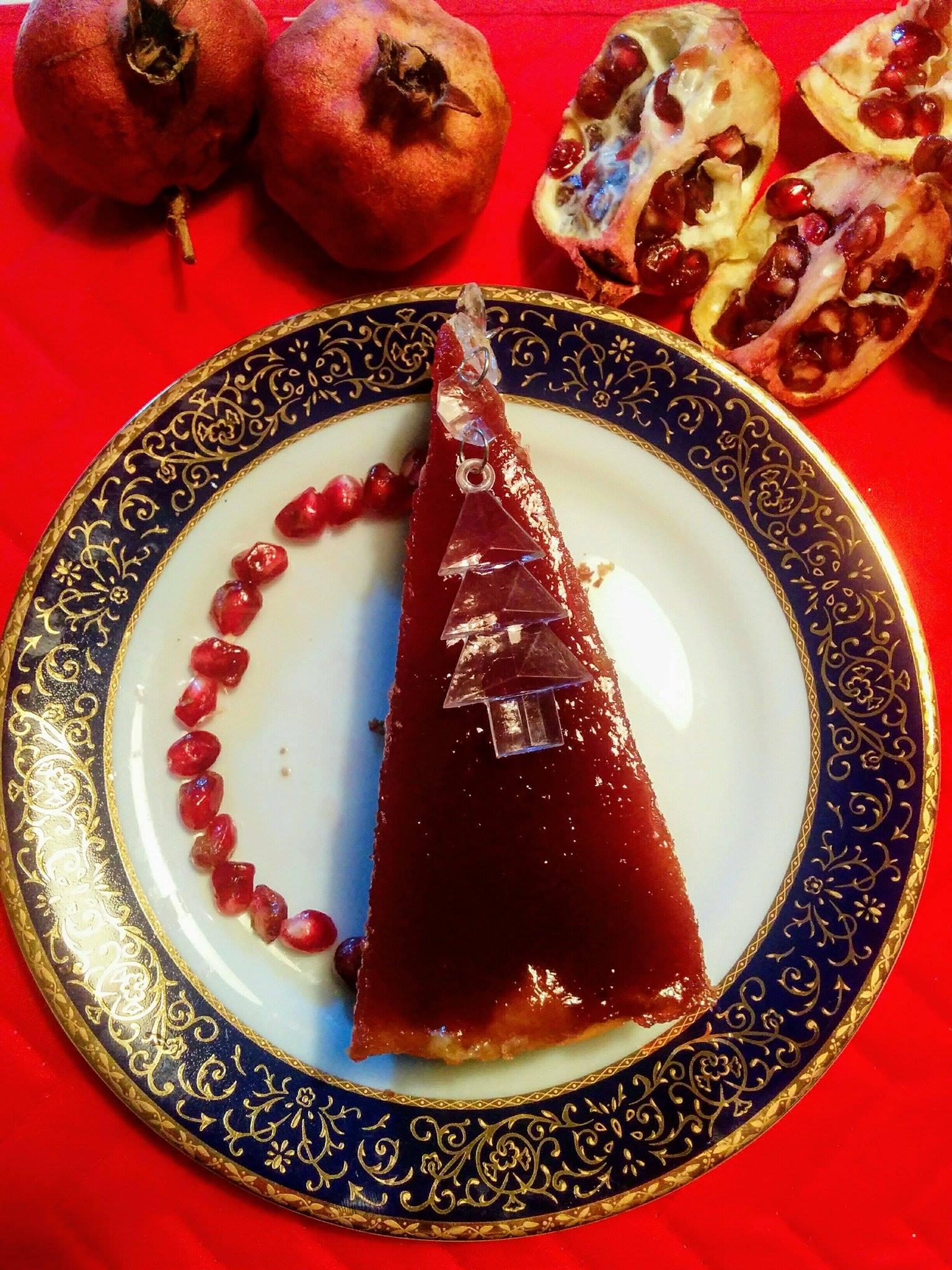 Dolce Bianco Natale con Rosso Melagrana
