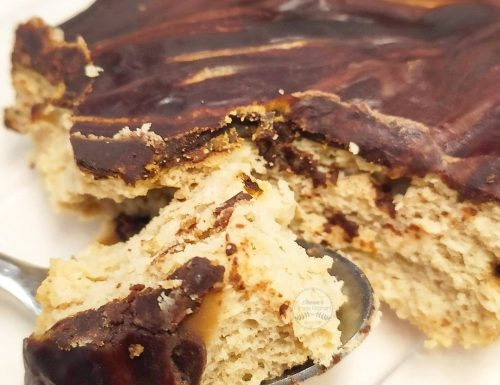 Microwave baked almond & tapioca cake