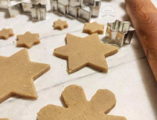 Biscotti di Natale (senza glutine e Vegan)