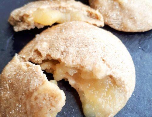 """Biscotti """"cuor di mela"""" senza glutine, lattosio e zucchero"""