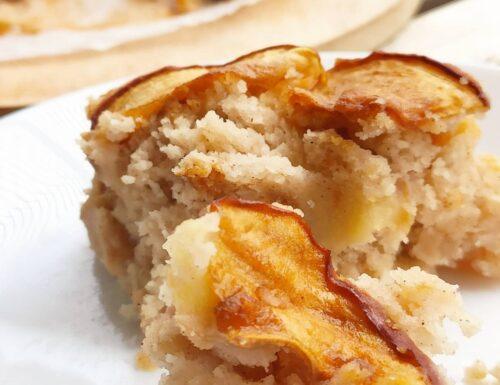 Torta di mele vegan senza glutine e senza zucchero