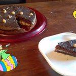 """""""Torta Cioccolato E Mele Con Crema Pasticcera""""…!!!"""