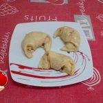 """""""Mini Croissant Con Crema Pasticcera E Mele""""…!!!"""