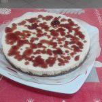 """""""Cheesecake Con Glassa Di Marmellata Alle Fragole""""...!!!"""