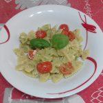 """""""Farfalle Al Pesto Con Pomodorini""""…!!!"""
