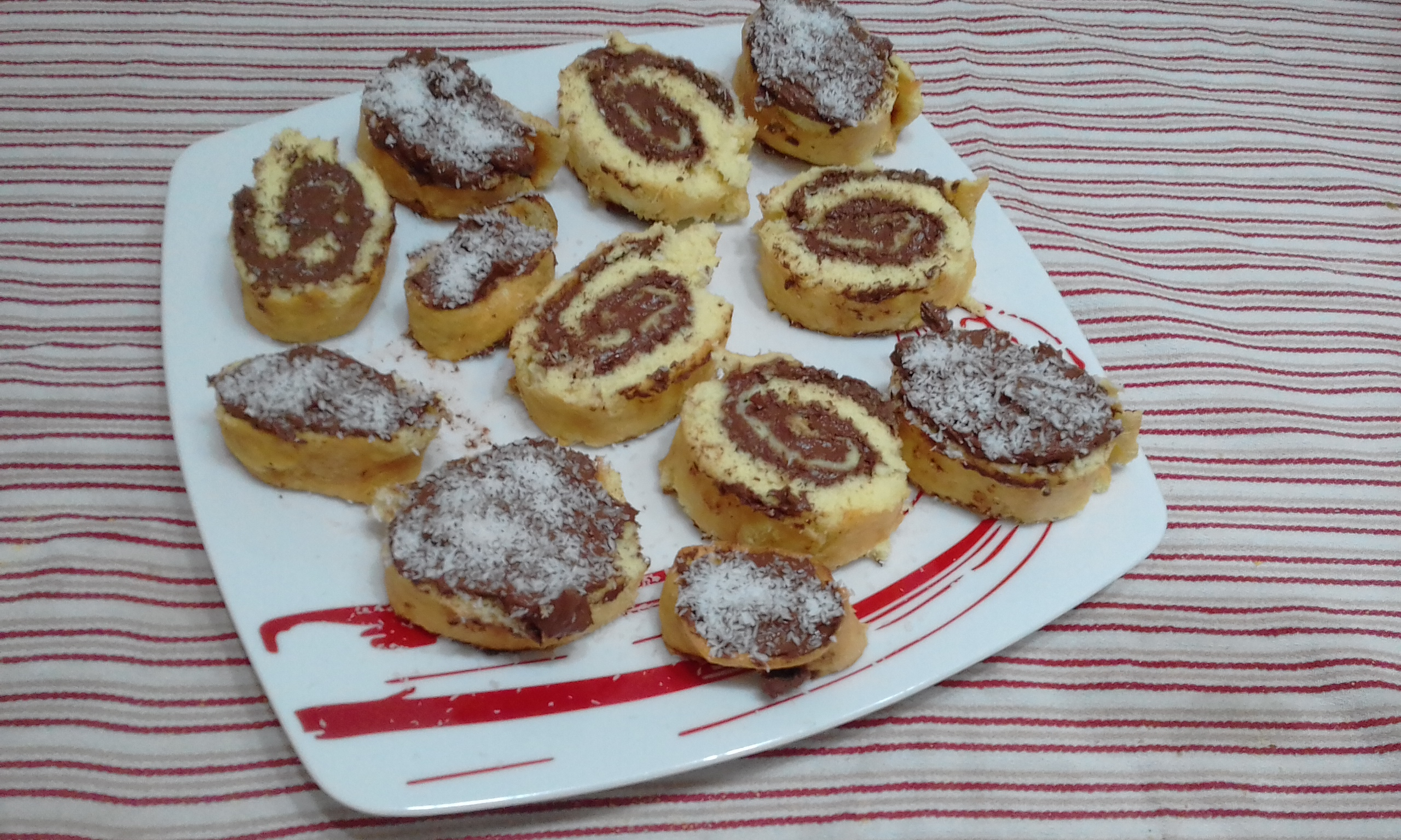 """20170727 102106 - """"Girelle Con Crema Al Cioccolato""""...!!!"""
