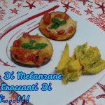 """Pizzette Di Melanzane E Chips Croccanti Di Peperoni""…!!!"