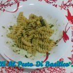 """""""Fusilli Al Pesto Di Basilico""""...!!!"""