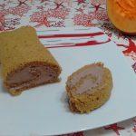 """""""Rotolo Dolce Di Zucca (Pumpkin Roll) Con Crema Al Cioccolato""""...!!!"""