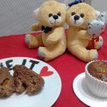 """""""Muffin Al Cacao Con Cuore Di Marmellata""""…!!!"""