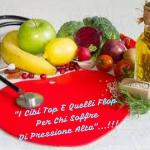 """""""I Cibi 🍅Top👍E Quelli Flop👎Per Chi Soffre Di PRESSIONE ALTA""""…!!!"""